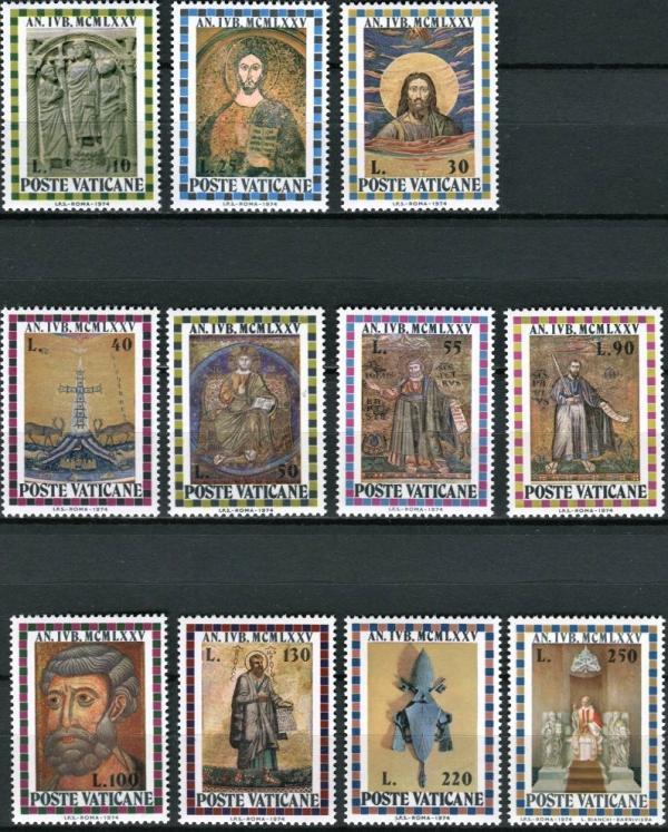 Známky Vatikán 1974 Svätý rok, MNH