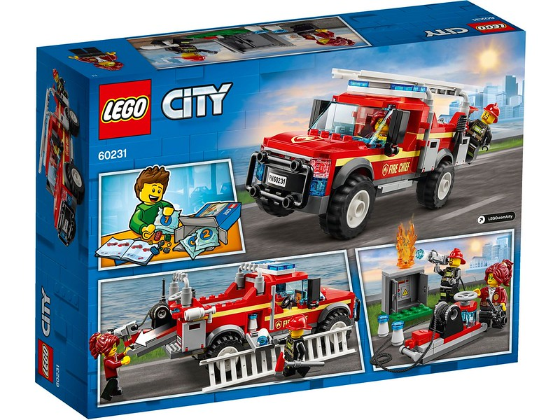 Fire Chief Response Truck (60231)