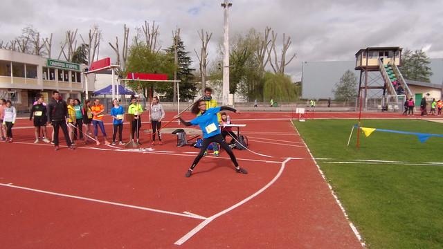 Chpt départemental d'Athlétisme - Dreux 24/04/19