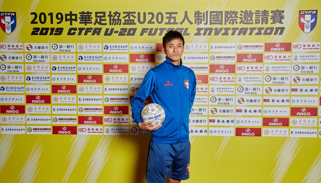 中華隊總教練張仟縈。(中華民國足球協會提供)