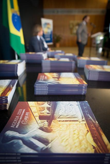Lançamento Agenda Político-Institucional 2019 da AJUFE