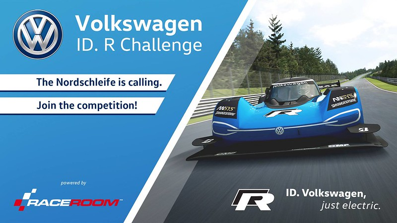 RaceRoom - Compete In The Electric-Powered Volkswagen ID. R