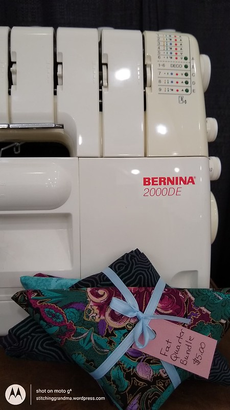 Serger for sale at show