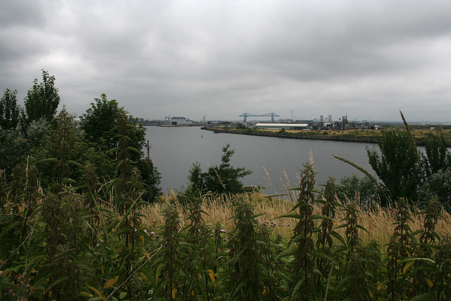 Cargo Fleet viewpoint, Middlesbrough