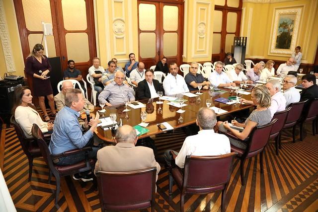 25.04.2019 Reunião do conselho de gestão estratégica da prefeitura de Manaus.