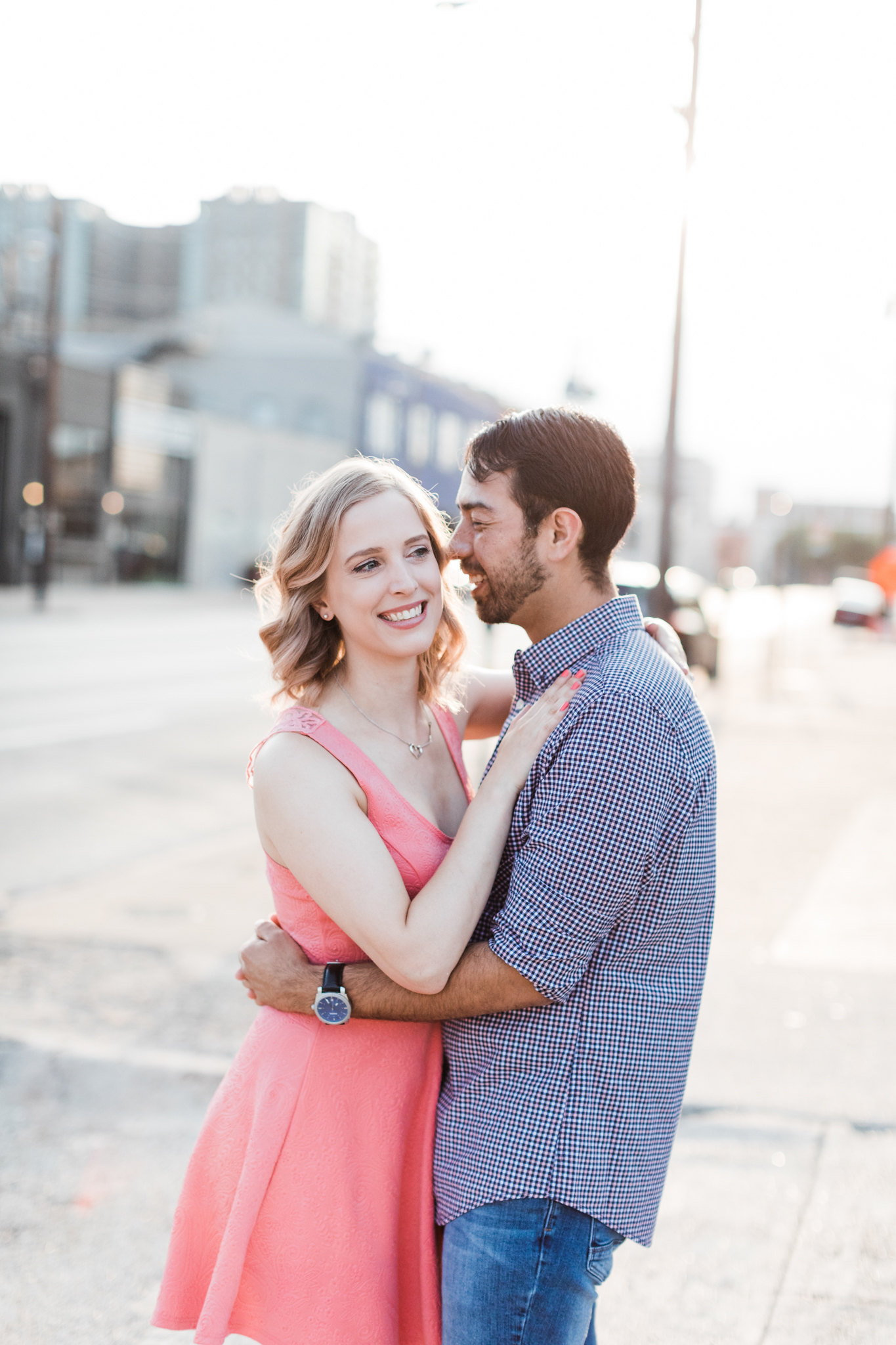Deep Ellum Engagement Photos