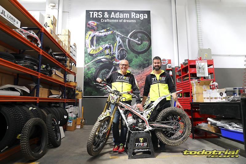 Entrevista a Jordi Tarrés en TRS Motorcycles