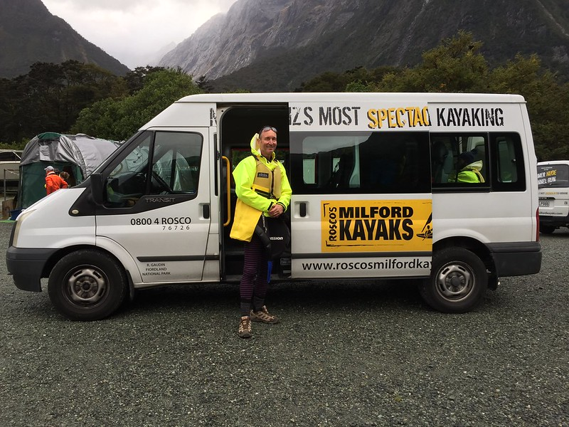 Te Anau Fiordland top things to do - guided sea kayaking Milford Sound