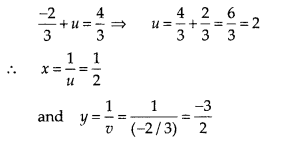 NCERT Exemplar Class 10 Maths Chapter 3 Pair of Linear Equations in Two Variables 3.3 A9f
