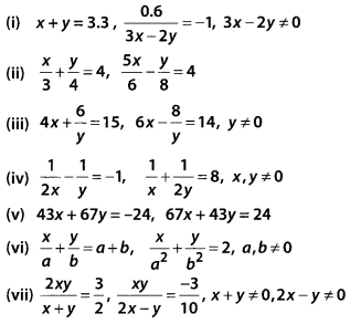 NCERT Exemplar Class 10 Maths Chapter 3 Pair of Linear Equations in Two Variables 3.3 A9