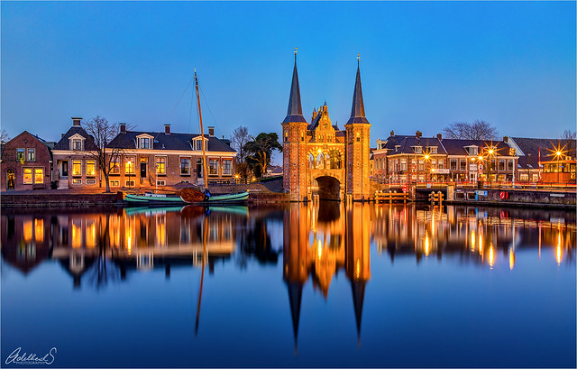 Waterpoort, Sneek, Netherlands