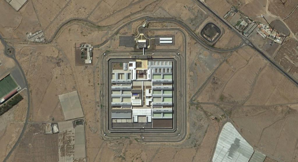 centro penitenciario las palmas II, gran canaria, las palmas, a canarias a la cárcel, después, urbanismo, planeamiento, urbano, desastre, urbanístico, construcción, rotondas, carretera