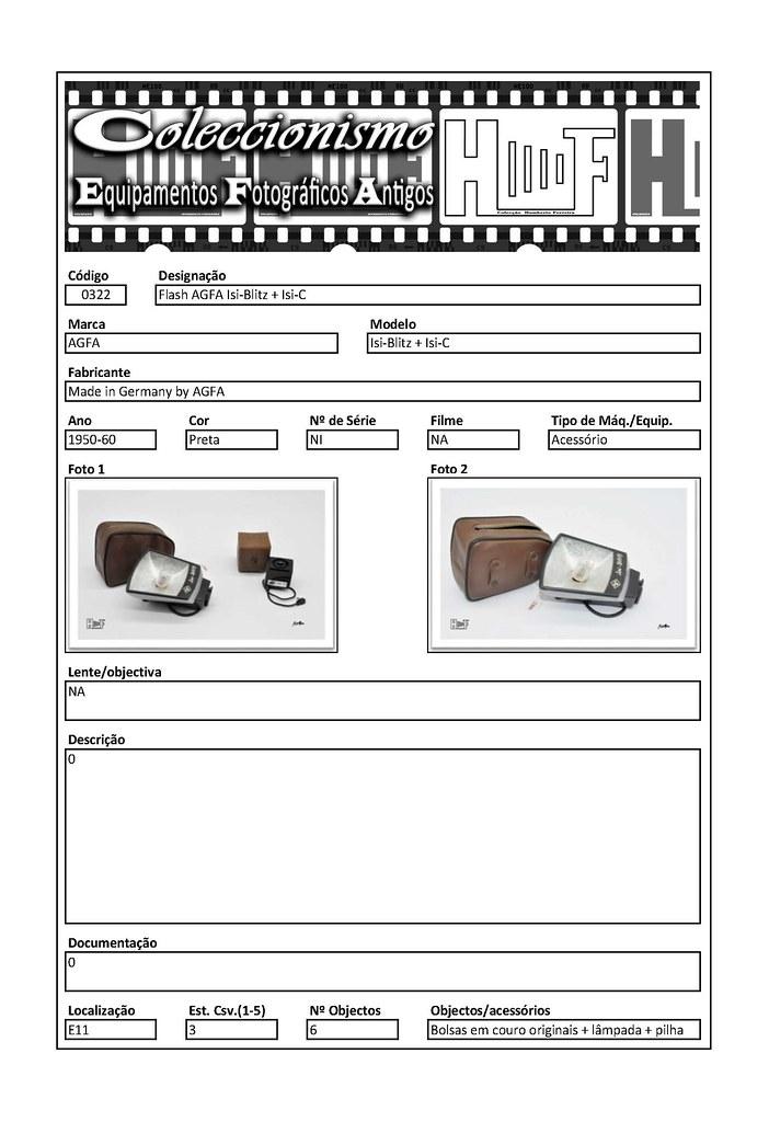Inventariação da colecção_0322 Flash AGFA Isi-Blitz + Isi-C
