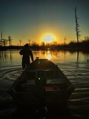 Felsenthal NWR duck hunter  Photo by Nick Wirwa, USFWS.