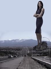 Famke Janssen giantess