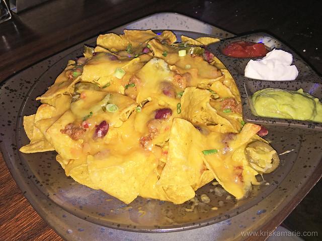 Nachos with meat from Datu Club