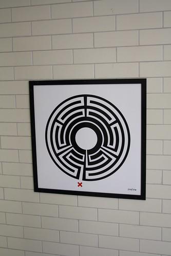 Labyrinth 248 Hammersmith H&C-Circle close up