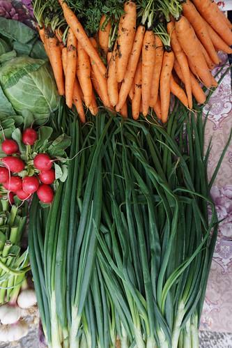 Kotor market veggies