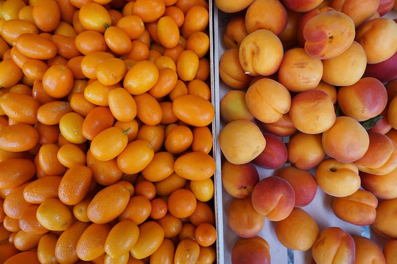 Kotor market fruit