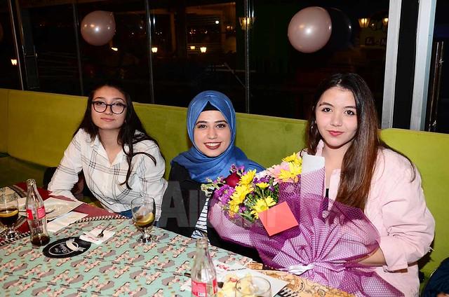 Leman Kültür'de doğum günü sürprizi