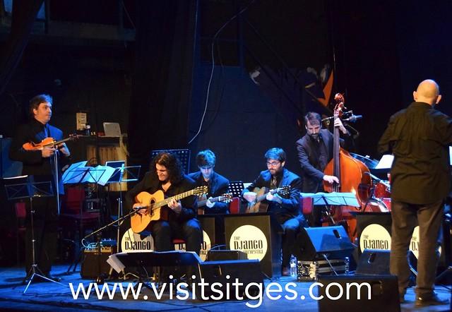 The Django Orchestra al Retiro pel Jazz Antic Sitges 2019