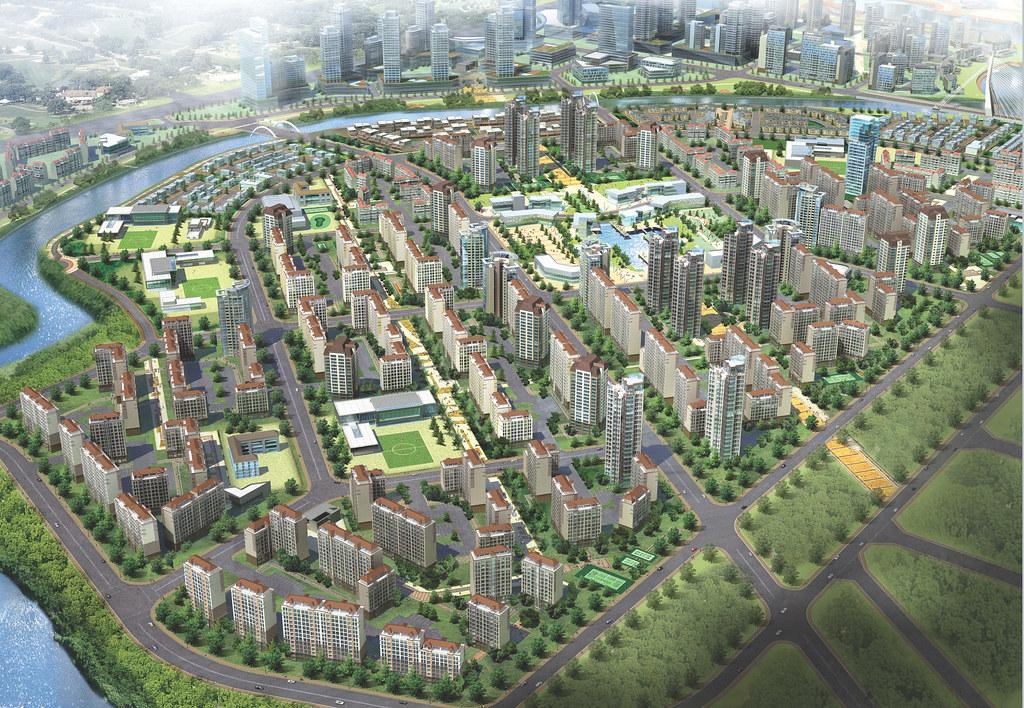 Nhà Bè tương lai với siêu đô thị thông minh ZeitGeist 1