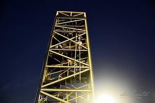 Mangueira 190309 335 Torre sinaleira da Mangueira no alto