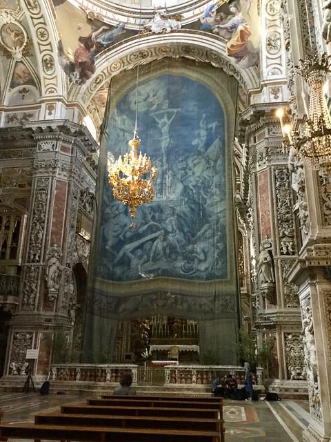 Tela quaresimale o della Passione nella chiesa di Santa Caterina