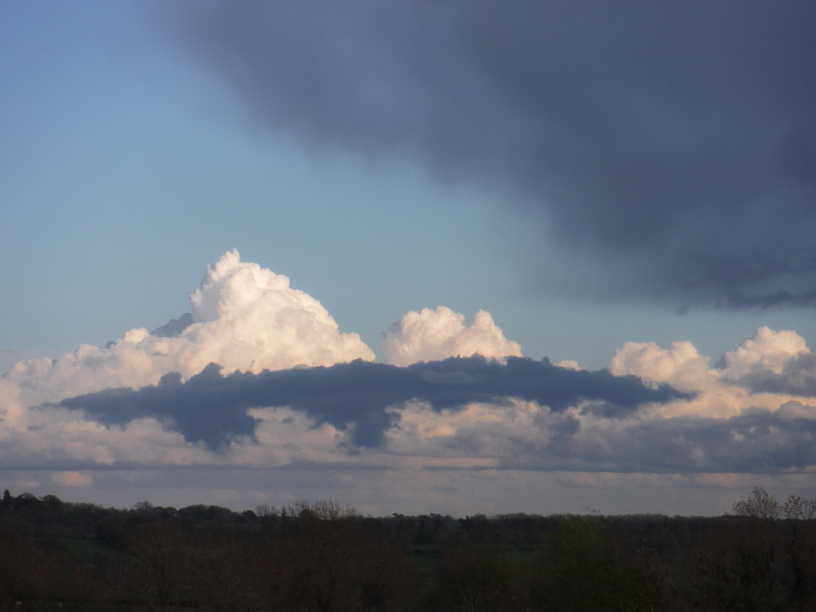 Clouds, from The Old Dog, Thorpe SWC Walk 326 - Dovedale (Ashbourne Circular)