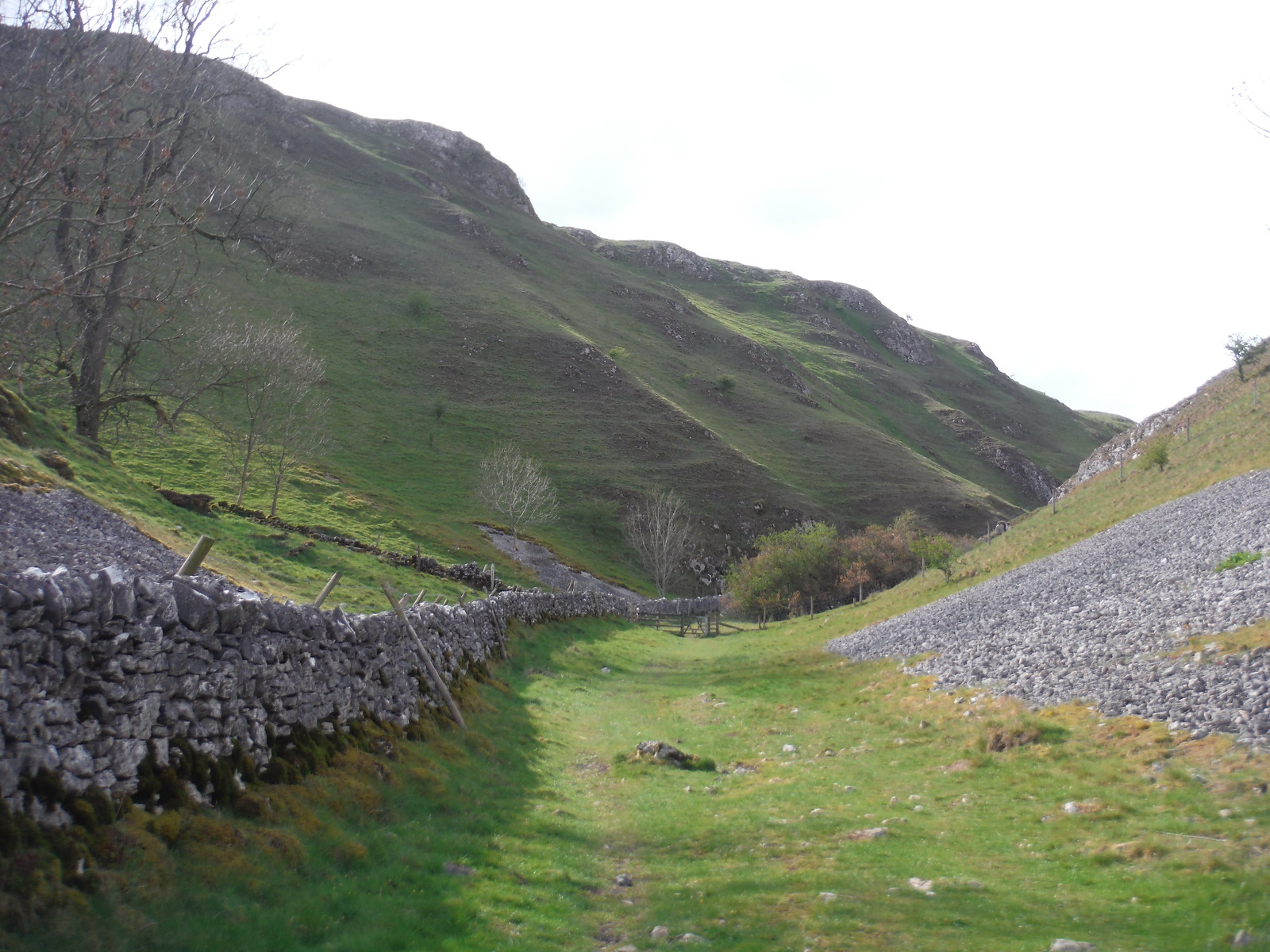 Up Hall Dale, Chasm ahead SWC Walk 326 - Dovedale (Ashbourne Circular) [Long Version via Alstonefield]