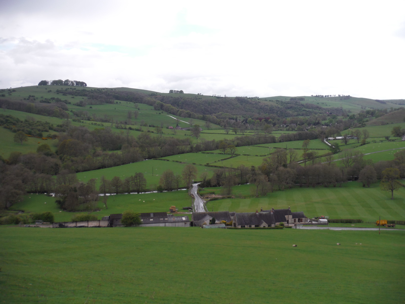 Thorpe Mill Farm, Ilam and the Manifold Valley SWC Walk 326 - Dovedale (Ashbourne Circular)