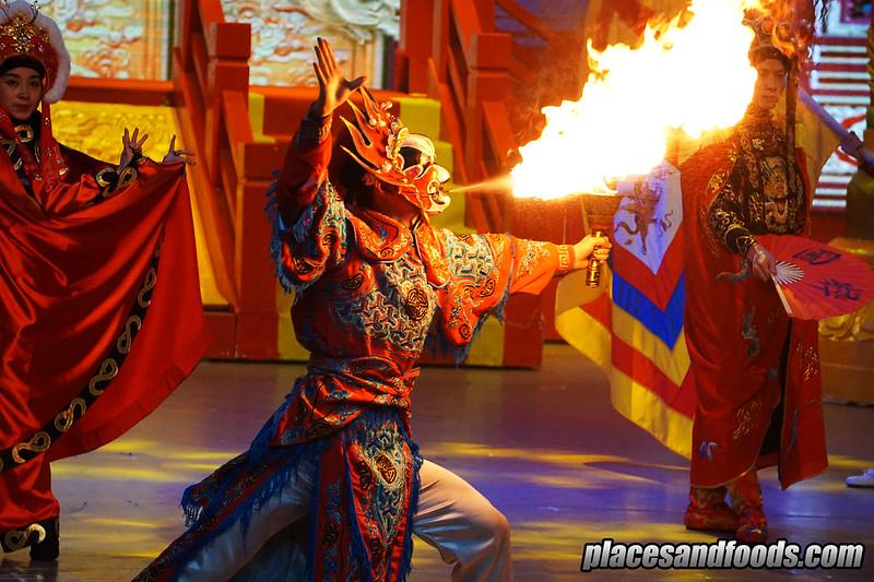 china emei kungfu mask changer