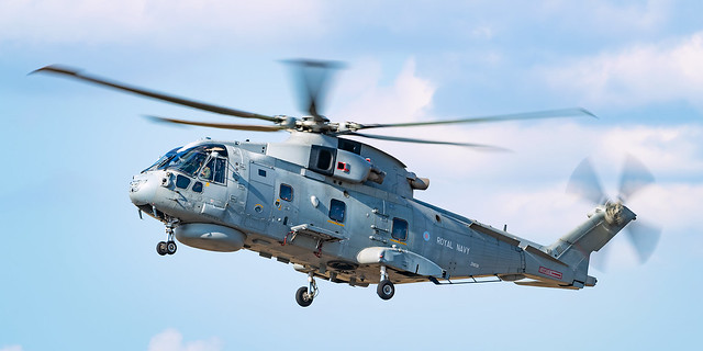 Royal Navy Agusta-Westland Merlin HM.2 ZH839