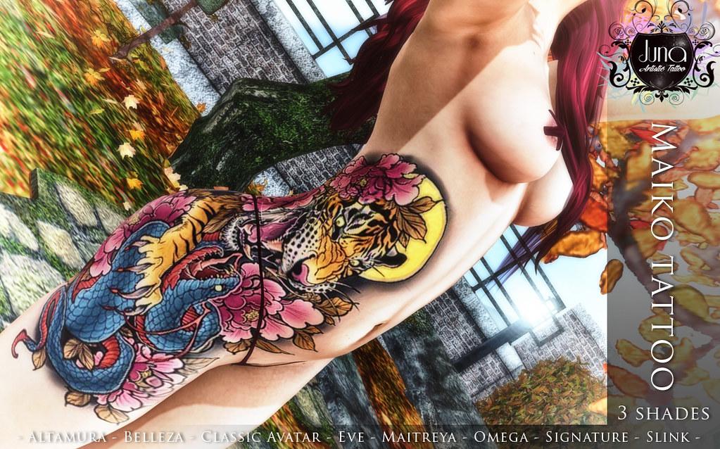 Maiko tattoo