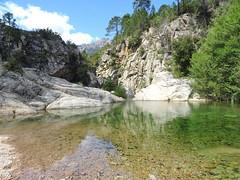 La grande vasque du ruisseau de Sainte-Lucie