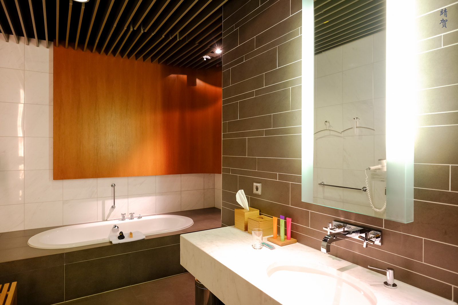 Shower room interior