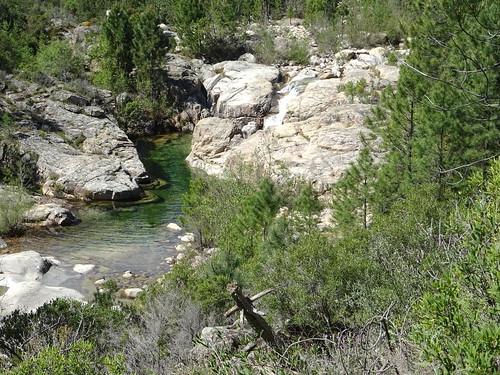 Les vasques de la Sainte-Lucie au départ de la balade aquatique