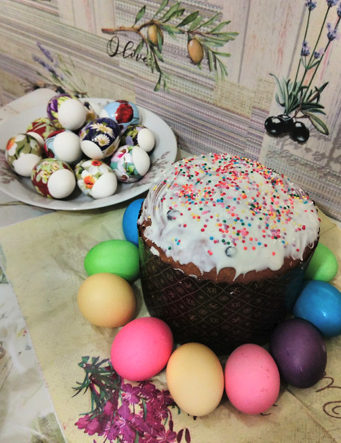 In Russia we have prepared for Easter!