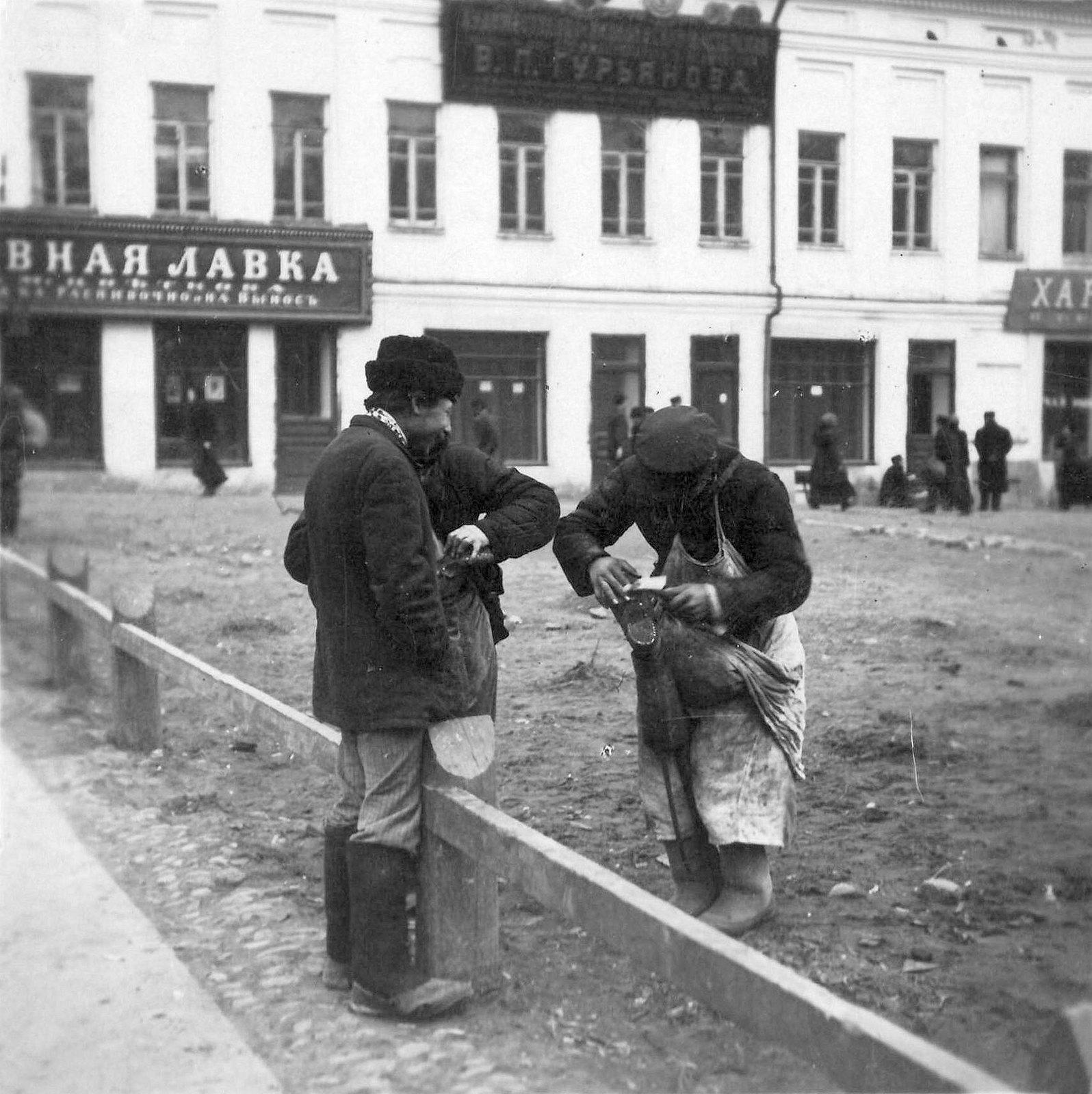 Большая Сухаревская площадь. 1910-е