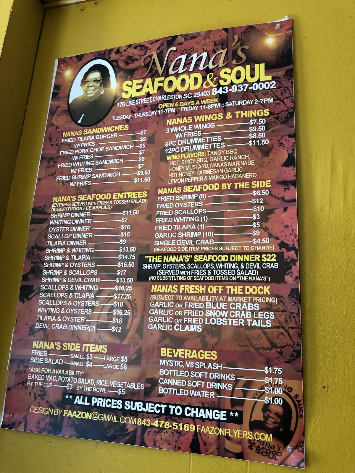 Nanas seafood & soul