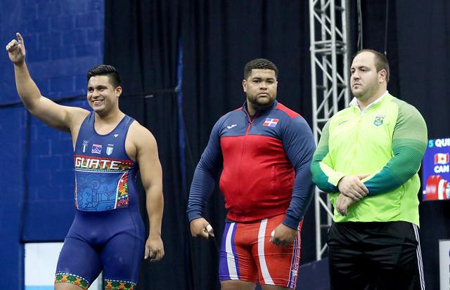 Día final Campeonato Panamericano de levantamiento de pesas