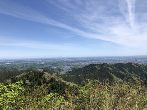 2019.4.28陣馬山〜高尾山縦走 景信山からの眺望