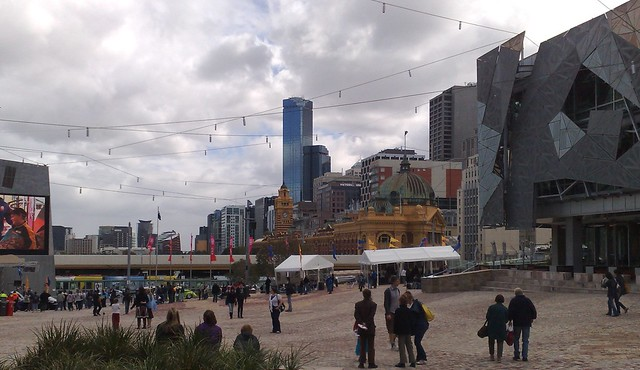 Federation Square, April 2009