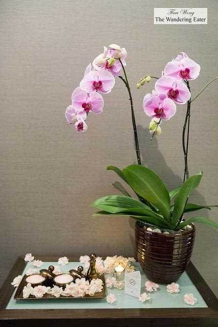 Spa suite at Okura Spa