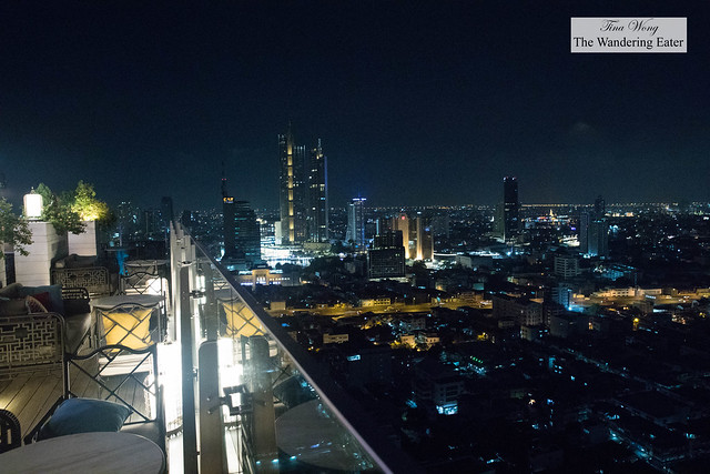 Nighttime views of Bangkok