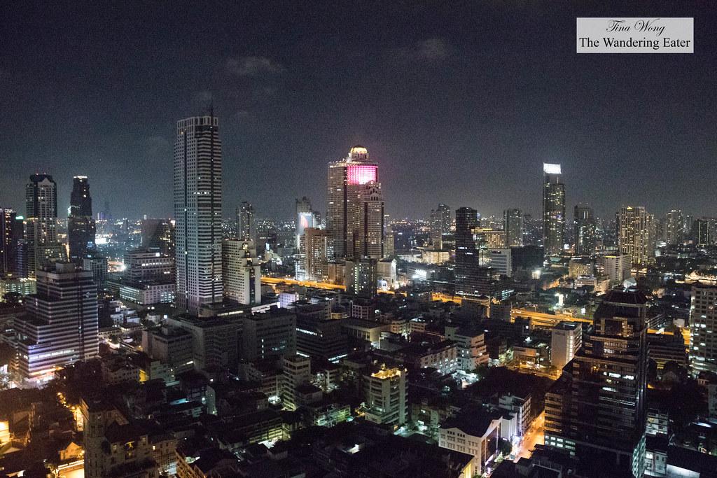 Nighttime view   Yao Rooftop Bar at Bangkok Marriott Hotel ...