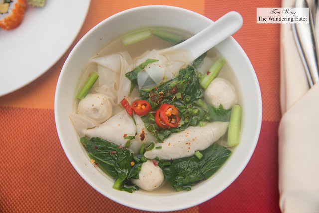 Cooked to order noodles bowl at Next2 Cafe
