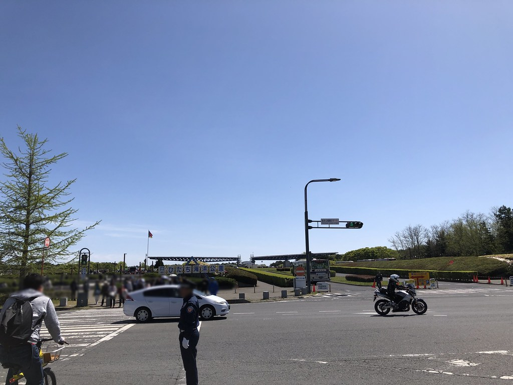 ひたち海浜公園入口