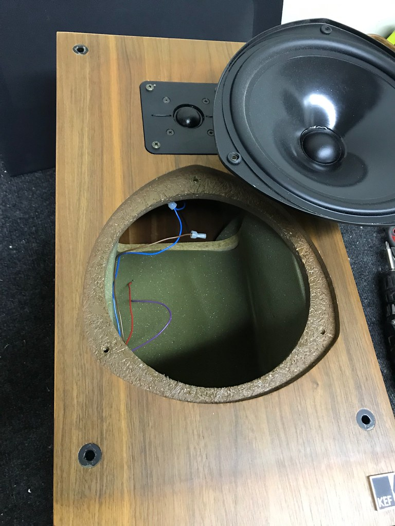 KEF 103 2 budget crossover Rebuild | Audiokarma Home Audio