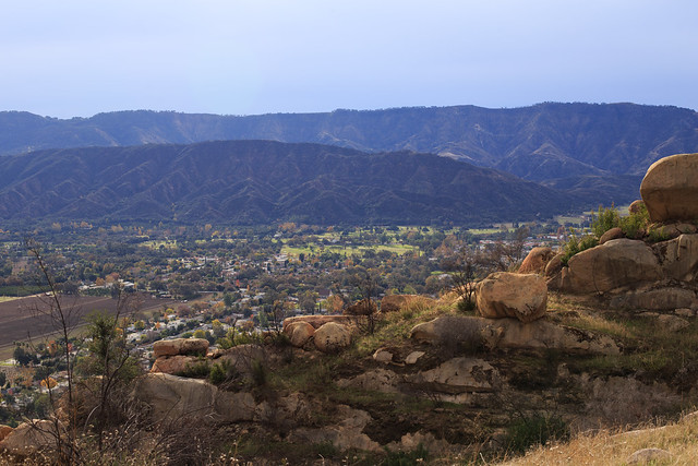 Rocky Ojai Landscape